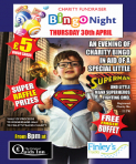 Bingo Charity Night At Quids Inn Thursday 30th April