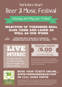 Yorkshire Heart Beer and Music Festival - Harrogate