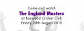 The England Masters play Banstead Cricket Club @Banstead_CC #lovecricket Family Fun Day