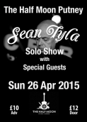 Sean Tyla Unplugged With Special Guests