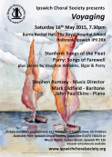 "Ipswich Choral Society presents ""Voyaging"""