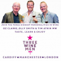 Three Wine Men Cardiff Christmas Tasting 2015