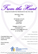 Concert in aid of The Neuroblastoma Society