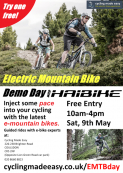 Electric Mountain Bike demo day