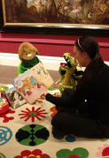 Storytelling for Under 5s at Nuneaton Museum & Art Gallery