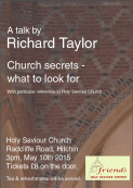 Church Secrets - what to look for.