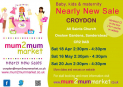 NEARLY NEW MUM2MUM MARKET: CROYDON: 16/05/15