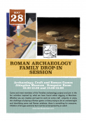 Roman Archaeology, Crafts and Games Family Drop-in