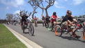 Custom, Classic and Modified Bicycle Cruise to Street Velodrome