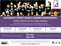 Authentic Street Dance Kids Summer Workshops