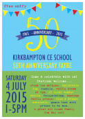 50th Anniversary Family Fun Day