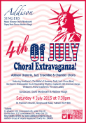 Addison Singers 4th of July Choral Extravaganza!