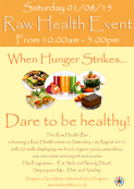 RAW HEALTH FOOD EVENT