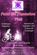Paint the Plantation Pink! Saturday Sept 5th 2015