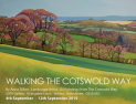 Anna Dillon Exhibition Walking the Cotswold Way