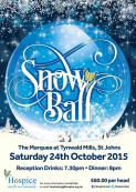 """Snow Ball"" Dinner At The Marquee Tynwald Mills Sat 24th October 2015"