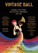 Charity vintage ball in Shrewsbury