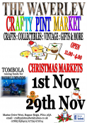 The Christmas Crafty Pint Market