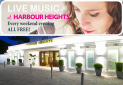 Live chilled piano & jazz sessions Friday & Saturday nights at FB Harbour Heights