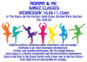 Mommy & Me Dance Classes At Onchan Park Wednesday Mornings
