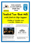 Stratford Town Ghost Walk for Guide Dogs Shakespeare's Puppies Appeal