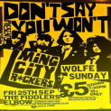 MING CITY ROCKERS / COLD IN BERLIN / WOLFE SUNDAY