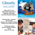 Ghostly Galleon Halloween craft session