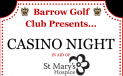 Barrow Golf Club Casino Night
