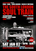 The South London Soul Train with JHC, Secret Live Band + More on 4 floors