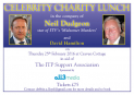 Celebrity Charity Lunch Event at Fulham FC - 25/02/16