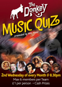 The Donkey Music Quiz