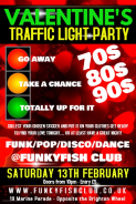 Valentine's Traffic Light Party - 70s/80s/90s