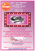 Grease Workshop for ages 7-12