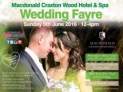 Free Entry to Wedding Fayre Macdonald Craxton Wood Hotel and Spa, Cheshire