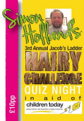 The 3rd Annual Jacob's Ladder Hairy Challenge Quiz Night!