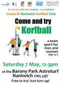 Come and try Korfball in Nantwich