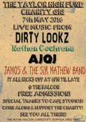 Charity Gig for Taylor High Memorial Fund/ Free Entry