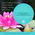 Yoga & Nutrition | Holistic Health for Women | Wellbeing in Birmingham