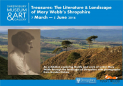 Exhibition 'Treasures: The Literature and Landscape of Mary Webb's Shropshire' at Shrewsbury Museum