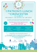 The Patron's Lunch for Cirencester *FREE event*