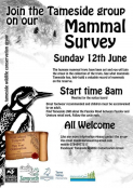 Tameside Wildlife Conservation Group - Mammal Survey