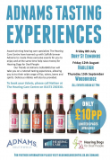 Adnams Tasting Experience with The Hearing Care Centre - Woodbridge