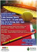 Tennis clubs in Bromsgrove