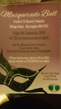 Masquerade Ball in aid of St Rocco's Hospice