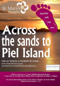 Across the sands to Piel Island