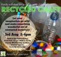 Recycled Craft Activities at Ford Park