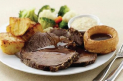 Traditional Sunday Lunch at The Olive Tree Restaurant, Holiday Inn Telford / Ironbridge