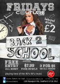 Back 2 School Fridays at Couture
