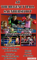 Kickboxing @ The Regency Hall, Saundersfoot
