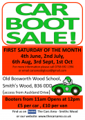 Car Boot Sale at Old Bosworth Wood School Car Park